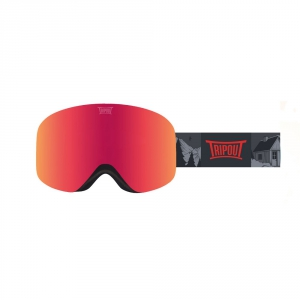 Gogle Tripout Racer Grizzly (orange fire) 2020