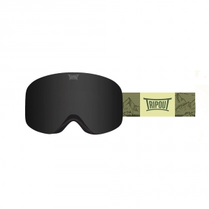 Gogle Tripout Racer Mount Green (black polarized) 2020