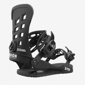 Wiązania snowboardowe Union STR (black) 2022