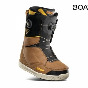 Buty snowboardowe ThirtyTwo Lashed Double BOA (brown/black) 2021