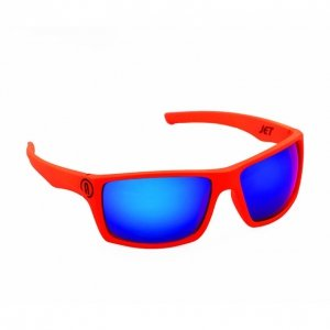 Neon Jet (orange fluo/blue)