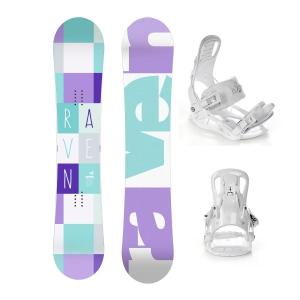 Zestaw snowboardowy Raven Laura 2020 + Raven Luna