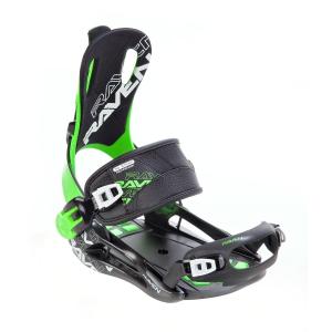 Wiązania snowboardowe Raven FT 270 (green) 2020