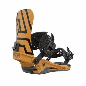 Wiązania snowboardowe Union Atlas (mustard yellow) 2021