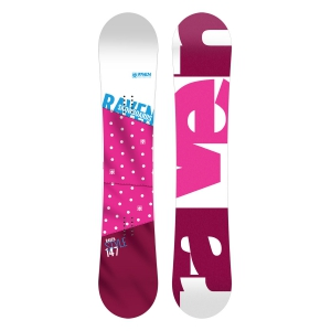 Deska snowboardowa Raven Style Pink 2020