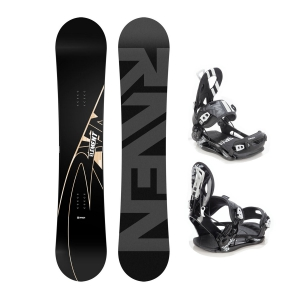 Zestaw Raven Element Carbon 2020 + Raven FT 500 black