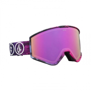 Gogle Electric Kleveland Volcom Co.Lab (brose pink chrome) 2019